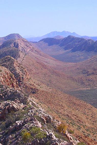 MacDonnell Ranges landscape