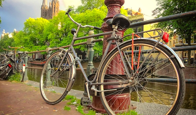 bike in amsterdam