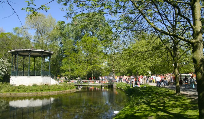 vondelpark - Amsterdam's largest and most popular park