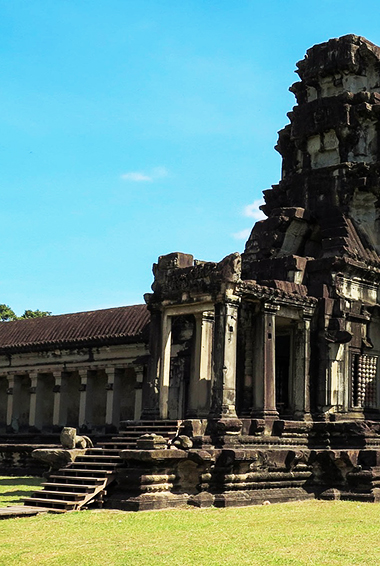 Angkor Wat temple entrance