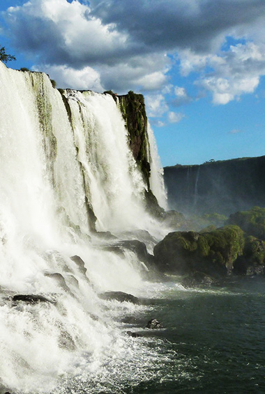 Iguazu Falls in Iguazu Falls National Park