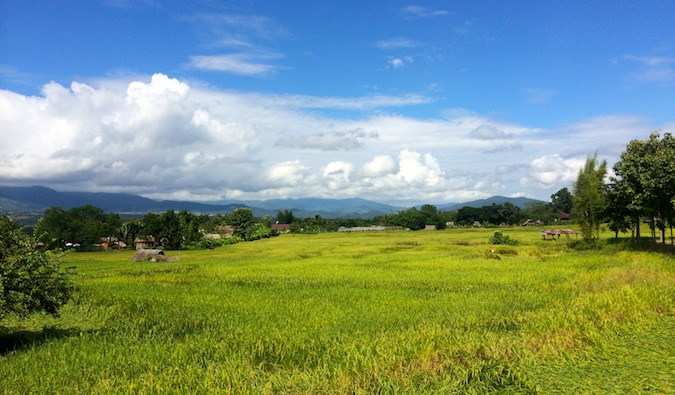 The countryside near Pai, Thailand