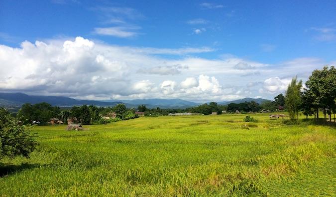 The countryside near Pai, Thailand