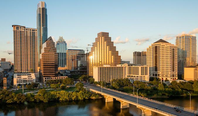 View of downtown Austin, TX