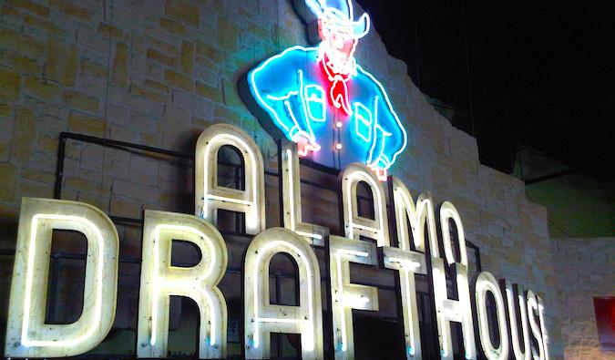 The Alamo Drafthouse in Austin, TX