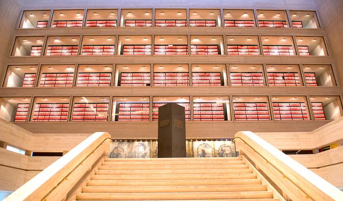 Lyndon B. Johnson Library in Austin