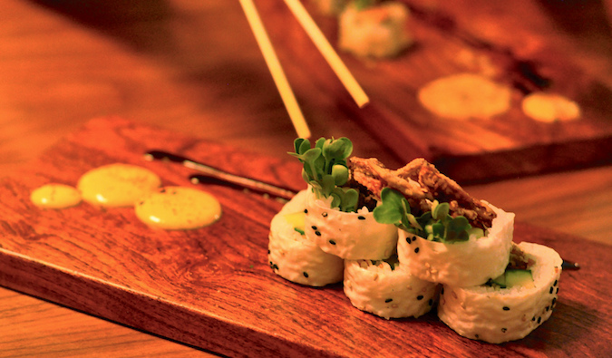 Asian cuisine at UChi in Austin, Texas