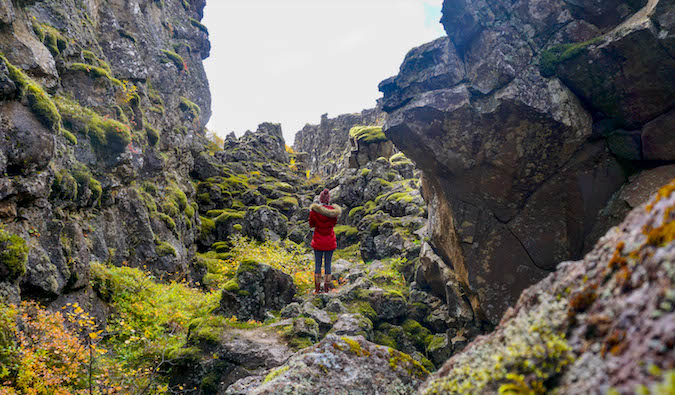 Reveling in nature in Iceland