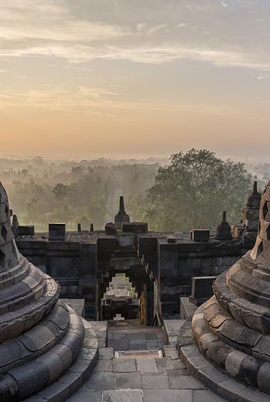 a Hindu temple in Bali