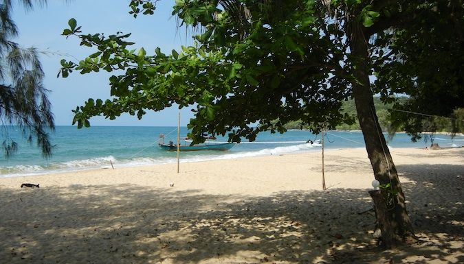bamboo island beach and volleyball