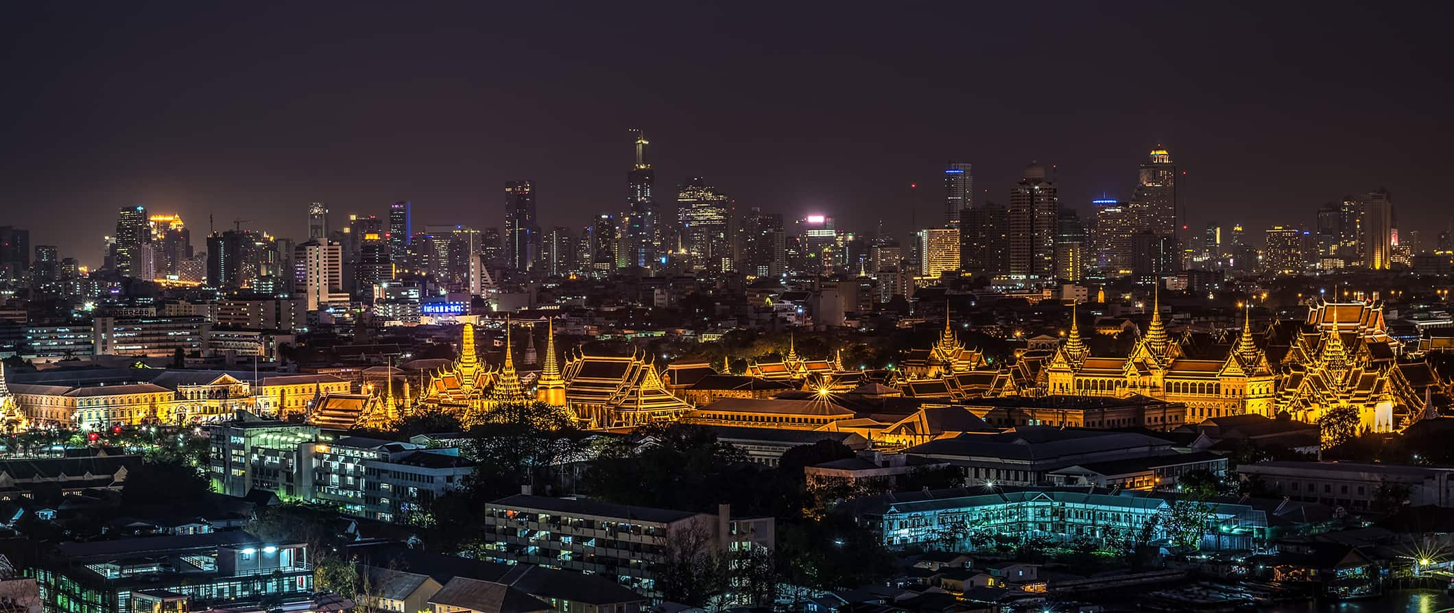 a night scene from Bangkok, Thailand