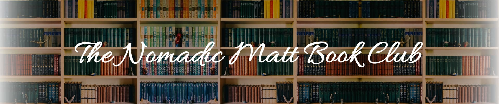 The Nomadic Matt Book Club