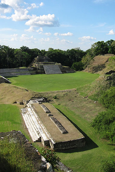 the ruins of Altun Ha in Belize