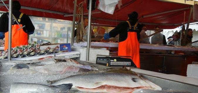 bergen norway fish market