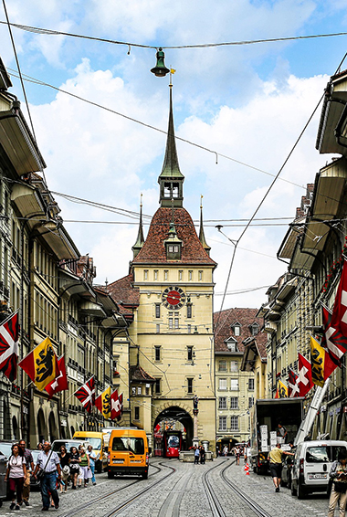 Old Town in Bern, Switzerland
