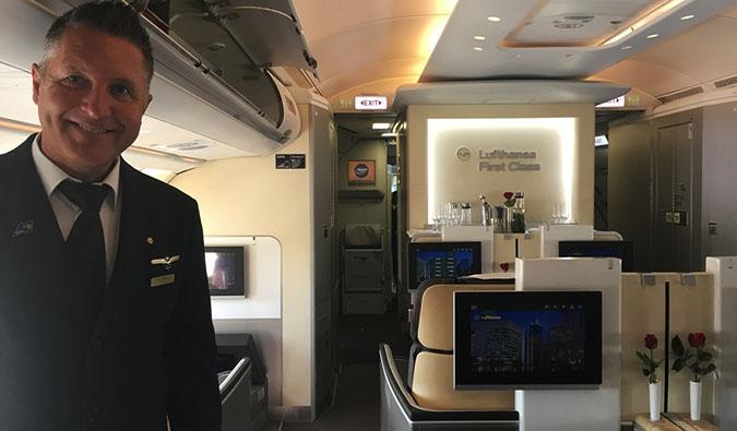 business class in British Airways