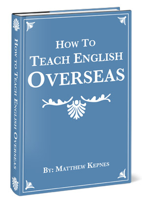 how to teach english overseas cover nomadic matt