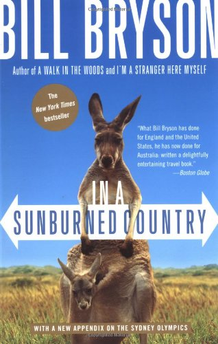 in a sunburned country by Bill Bryson book cover