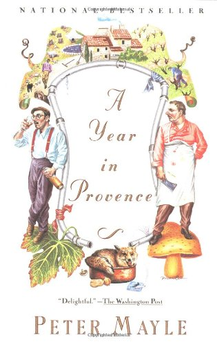 A Year in Provence book cover image