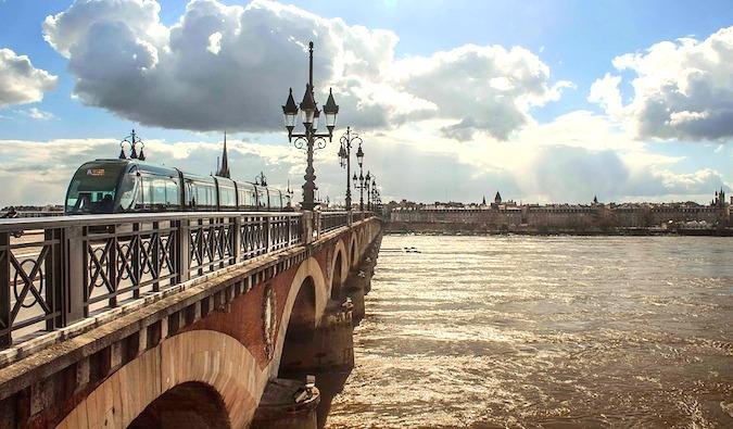 River in Bordeaux, France