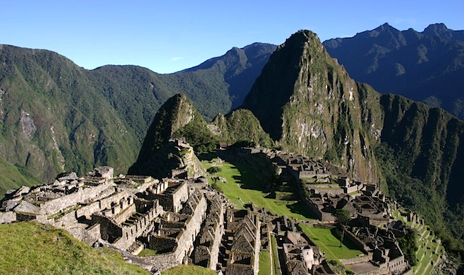 The historic ruins of Machu Picchu, Peru