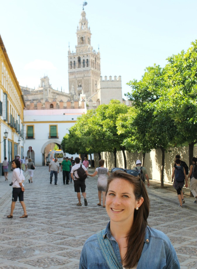 English teacher Cat Gaa traveling around Spain