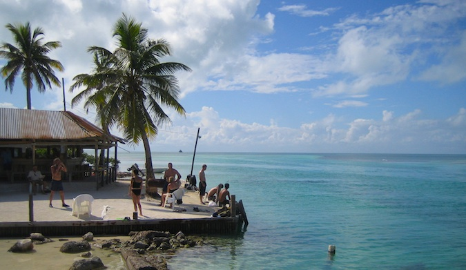 caye caulker split