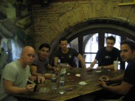 Friends in Barcelona