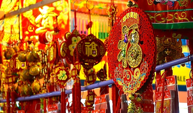 Art and trinkets in Singapore's Chinatown