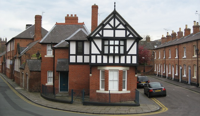 a beautiful house in chester england