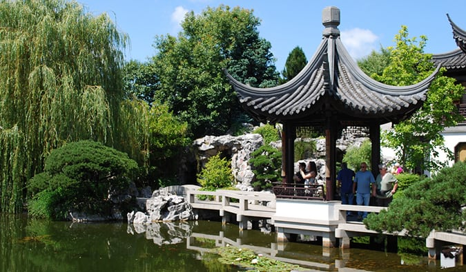 chinese gardens in portland, oregon