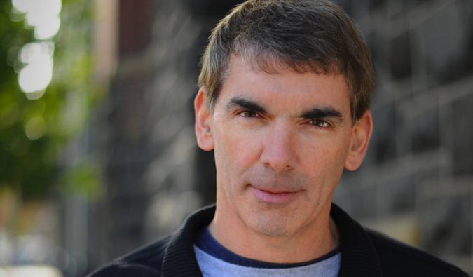 a headshot of author Chuck Thompson