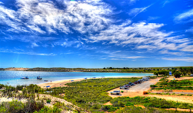 Coral Bay, Australia outback and sea
