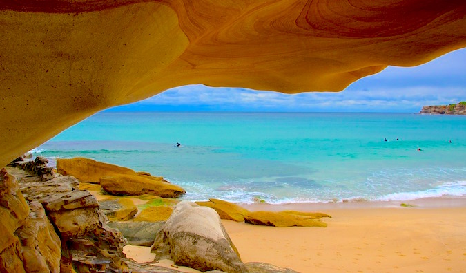 beautiful beach in australia