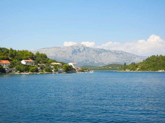 croatia's water that is very natural