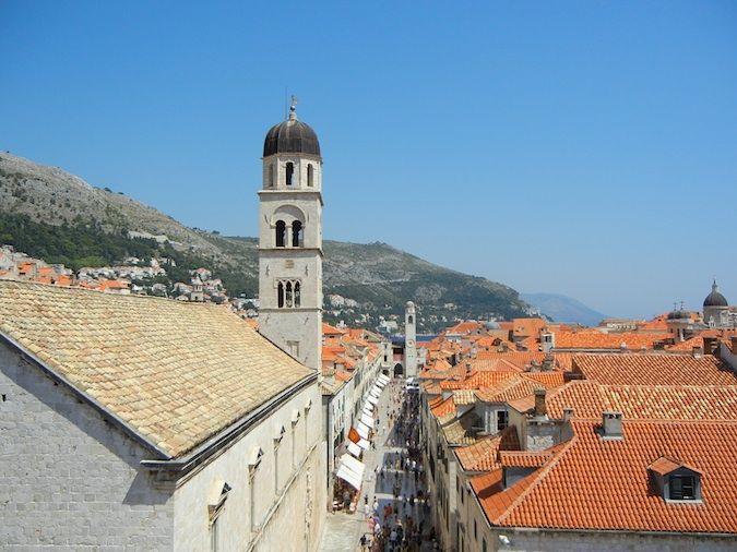 Dubrovnik's center street