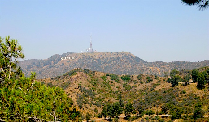 Hollywood, near Los Angeles CA - a city I'm not a fan of