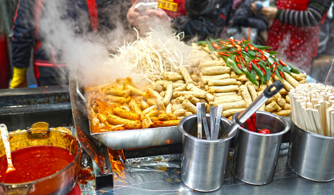 A picture of delicious street food taken by Jodi Ettenberg the Legal Nomad