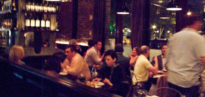 Locanda Verde is a great place to eat in NYC
