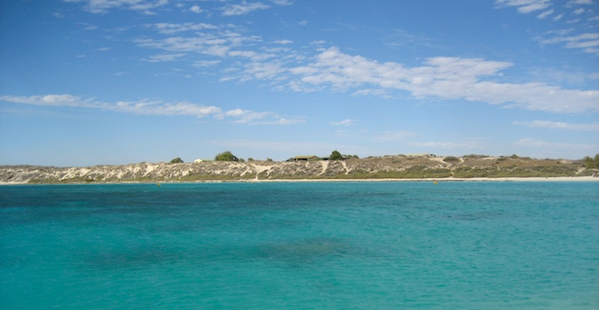 A view of Coral Bay in Western Australia