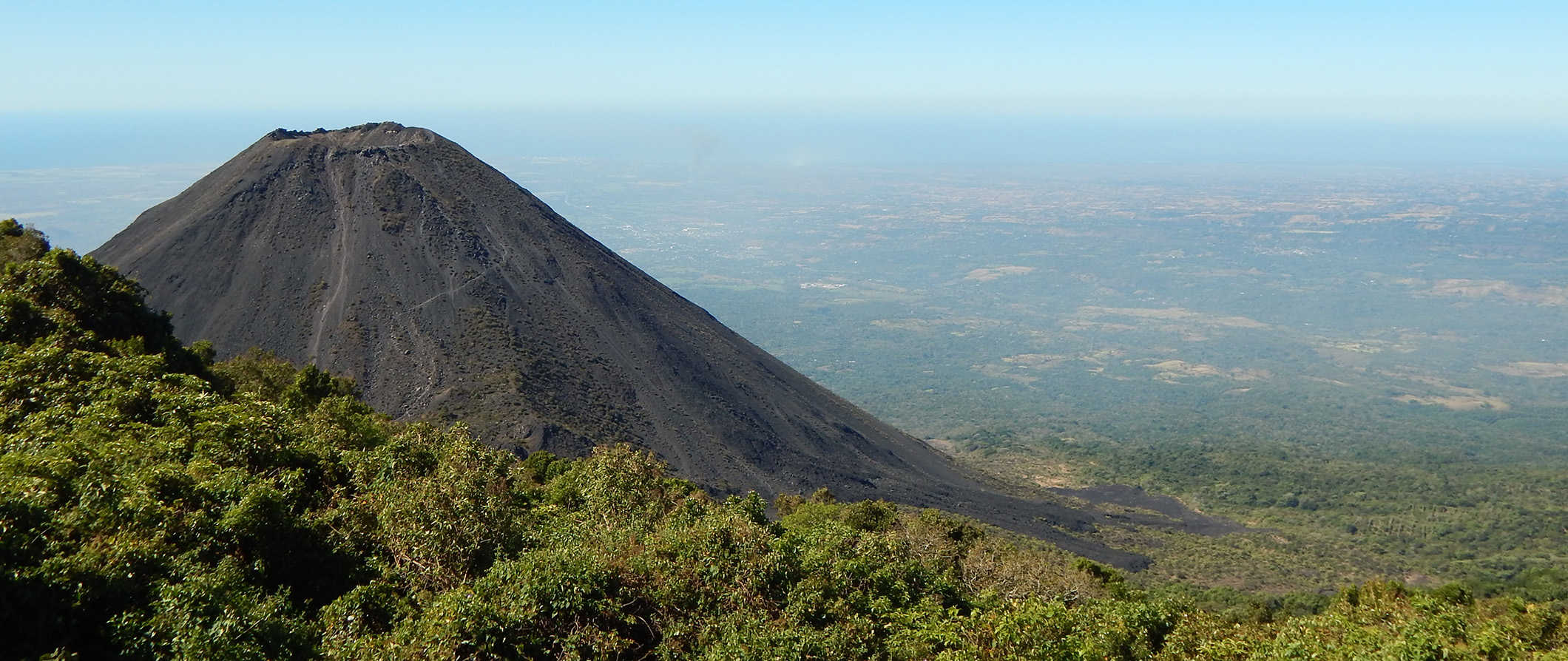 a volcano in El Salvador