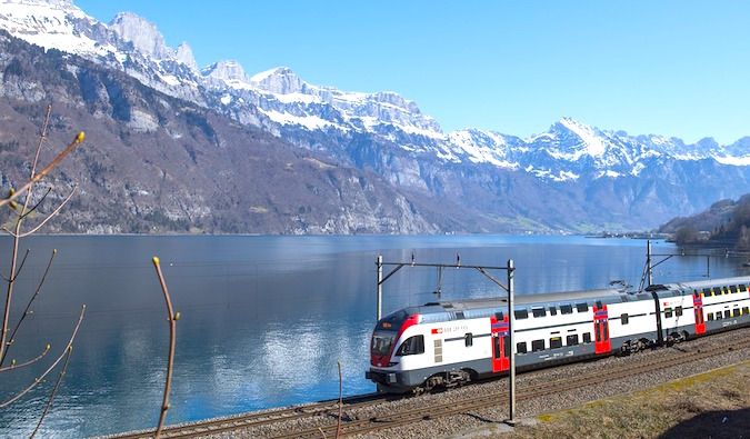 Ride a train like this with a Eurail pass