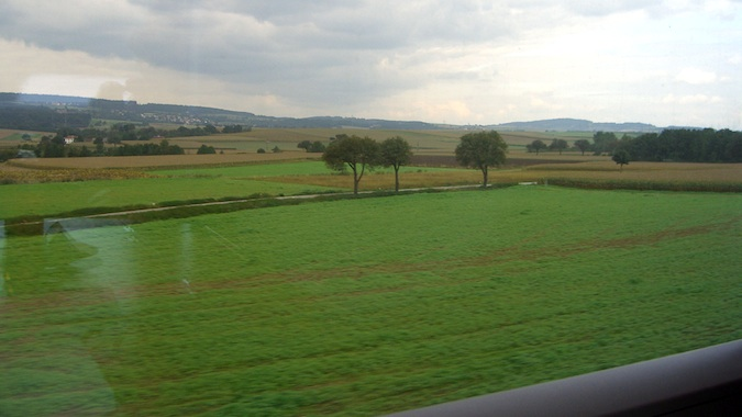 trains in germany with a eurail pass