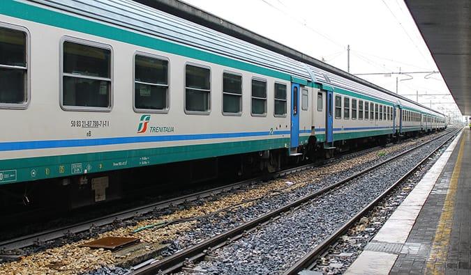 a train in Europe