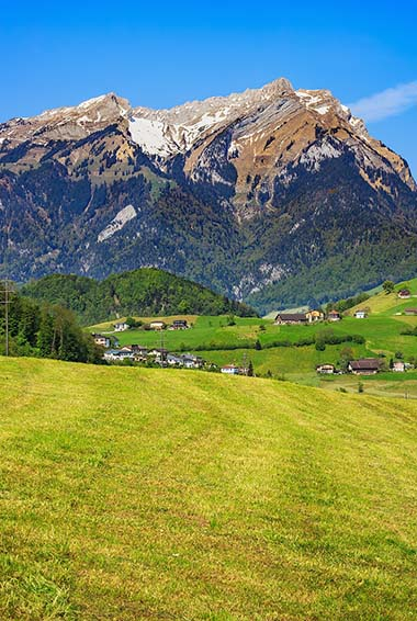 Visit the Swiss Alps