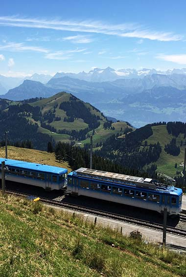 Ride Europe's Famous Rail System