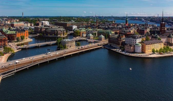 autumn in Stockholm, Sweden