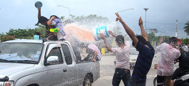 Songkran, Thai New Year
