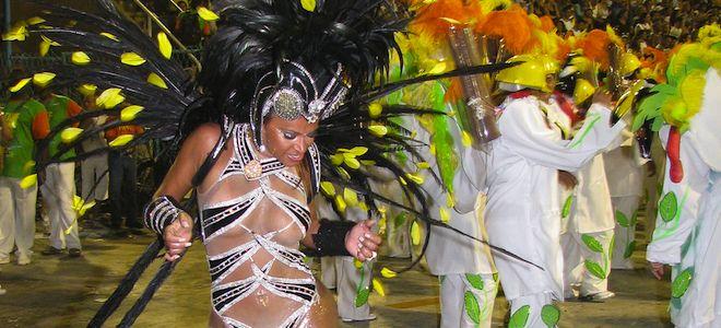 celebrating carnival
