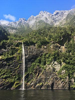 Browne Falls, New Zealand